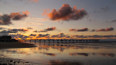 Dreams of Saltburn. (paul downing) Tags: sunset canon reflections pier saltburn pdp pd1001 sx10is pauldowning