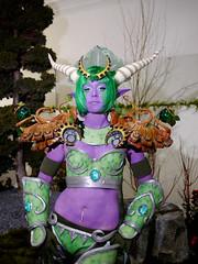 Ysera (KoniCosplay) Tags: world night wow dragon cosplay warcraft elf druid koni aspect drood alexstrasza ysera