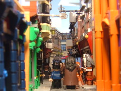 diagon alley (sirallan2012) Tags: alley lego harry potter diagon