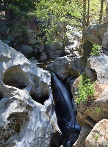 """Heart Falls"" (Camp Seely Falls, Valley of Enchantment, San Bernadino Mountains CA"