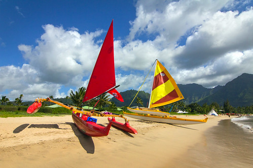 Outriggers, Hanalei