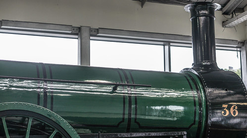 Old Steam Engine - Kent Railway Station (Cork City)