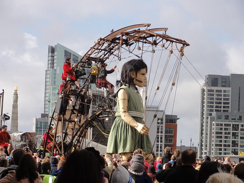 Little Girl Giant in Liverpool