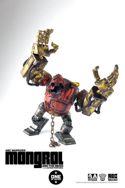 threeA - 2000 AD 系列Mongrol 1:12 機械人
