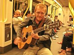 miguel ... (espe casanoves) Tags: madrid españa valencia miguel metro dantart cantautor