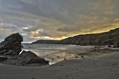 Cornwall Kennack Sands (Jo Fisher :)) Tags: sunset beach sand rocks cornwall cove sands kennack
