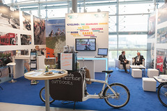 European Cyclists' Federation stand
