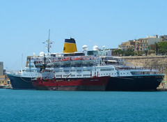 Saga Ruby (albireo 2006) Tags: cruise sea wallpaper harbor mediterranean harbour background cruising malta cruiseship santatereza liner valletta cruiseliner grandharbour sagaruby v18 sagacruises vistafjord valletta2018