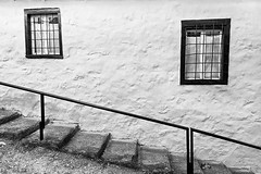 Geometry (Nick-K (Nikos Koutoulas)) Tags: white black window geometry steps greece    siatisa