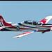 RAF 2012 Tucano display.