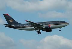 RJ A310 JY-AGM (PlaneSnapper) Tags: london rj heathrow royal airbus airlines jordanian lhr a310 jyagm a3103