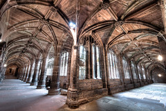 Chester Cloisters (Mark Carline) Tags: cheshire cathedral chester cloisters hdr photomatix hdrsoft welshot