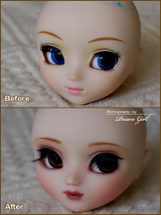 Before & After - Pullip Chelsea (-Poison Girl-) Tags: blue brown girl work hair eyes doll long chelsea dolls waves eyelashes makeup fringe before lolita wig groove after pullip elegant poison custom commission wavy pullips poisongirl sideways customs classy faceup eyechips junplanning rewigged pullipcustom rechipped pullipchelsea lolitablue chelseacustom