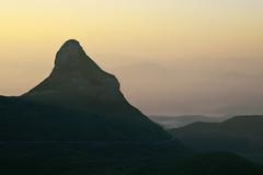 Radiša Živković -  Yellow sunrise (Radisa Zivkovic) Tags: mist mountain nature yellow sunrise landscape nikon scenery europe highland montenegro crnagora durmitor zabljak stozina