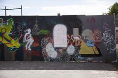 "IMG_1489 (Helsinki street art office Supafly) Tags: street urban streetart color art wall suomi graffiti helsinki colorful spray urbanart spraypaint graff legal hel kiva ""street graffitiwall art"" katutaide supafly katutaideseinä"