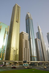Skyscraper (Mathias Apitz (München)) Tags: road car museum marina mall gold aquarium al dubai bur yacht united grand mosque emirates zayed khalifa arab souk abu dhabi mathias emirate deira sheik jumeirah dhow burj maybach moschee etihad vereinigte arabische apitz