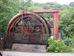 Water wheel (birdlouise) Tags: closed factory tour beds alpha deserted shut
