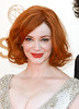Christina Hendricks The 63rd Primetime Emmy Awards held at the Nokia Theater - Arrivals Los Angeles, California