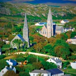 "Clifden Spires, Connemara <a style=""margin-left:10px; font-size:0.8em;"" href=""http://www.flickr.com/photos/89335711@N00/7467195102/"" target=""_blank"">@flickr</a>"