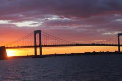(Juan Manuel Ruz Ramirez) Tags: nyc newyorkcity bridge sunset sky newyork skyline canon landscape nice view canont3 juanmruiz
