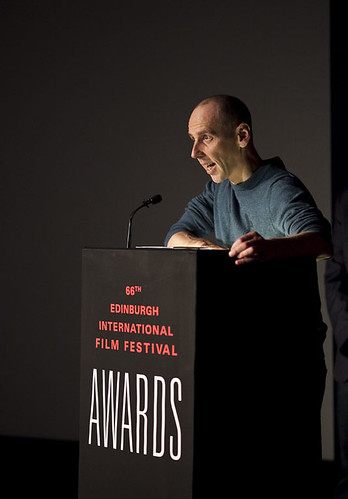 Ewan Bremner at the 2012 EIFF Awards ceremony at the Filmhouse