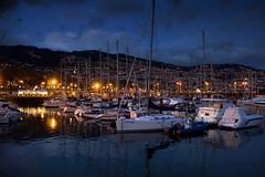 Marina em Funchal (Marco Monteiro imagery) Tags: marina barcos noturna madeira funchal ilhadamadeira duetos noitefunchalnoturna