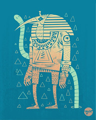 MVP (Most Valuable Pharaoh) (Tony Riff) Tags: illustration design pharaoh threadless ancientegypt