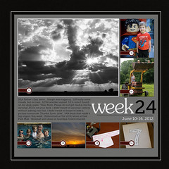 Week 24 2012 (kelly.buss) Tags: sunset cloud jesse scrapbook landscape jacob jd jeremiah kenny jonah 2012 weeklylo2012