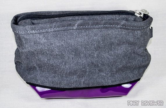 Gypsy Moth Pouch in Mid Grey Purple