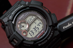 Mudman G-9300 - Full Face (mekelbagus) Tags: macro water bar solar outdoor watch twin thermo casio shock wristwatch 20 jam protection tough compass resist sensor gshock mudman thermomometer tangan