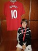 A big fan of Rooney..who amazed the crowd at the Man U vs Arsenal match