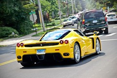 Giallo Enzo (Andrew Cragin Photography) Tags: auto italy cars beautiful beauty car race america canon eos rebel cool interesting italian automobile italia european connecticut fast ct ferrari best explore expensive rare exclusive fastest extraordinary automobiles explored 200mph shutterspeedphotos