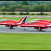 Red Arrows depart.