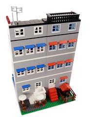 Lego Modular Building - City Residential Pack #3 - 3 (BrickCityDepot) Tags: houses england london buildings lego bricks hill row modular legos notting