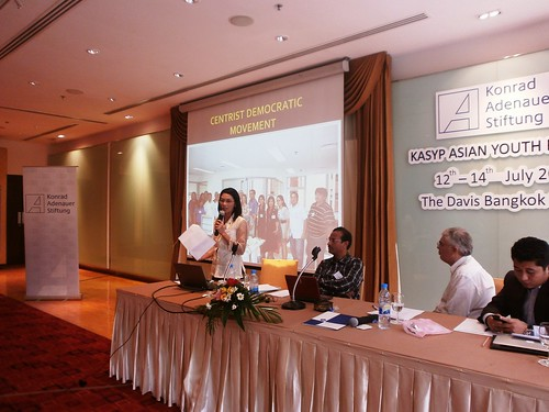 CDP member attends Asian Youth Forum in Bangkok