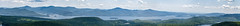 Lake George Panorama (no3rdw) Tags: new york panorama lake mountains landscape george adirondacks panoramic hike telephoto summit