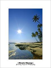 ::Salam Jumaat & 7 Ramadhan:: (Green.Boy) Tags: blue seascape tree nikon uv sigma filter f22 1020 terengganu hoya 603 10mm velbon kenko kualaabang leefilter d300s