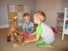 IMG_0059 (drjeeeol) Tags: charlie will triplets toddlers 2012 26monthsold