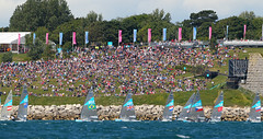 Olympic Games Weymouth (British Sailing Team) Tags: finn afloat london2012 benainslie oceanimages