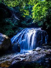 PhoTones Works #1761 (TAKUMA KIMURA) Tags: summer nature japan landscape waterfall scenery waterfront rocky wed 日本 夏 自然 風景 omd kimura 水 滝 景色 takuma 琢磨 水辺 木村 em5 岩場 photones