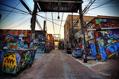 Art Alley (@!ex) Tags: city sunset southdakota grafitti rapidcity artalley borderfxef14mmf28liiusmcanon5dmkiii