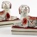 206. Pair of Staffordshire Dogs
