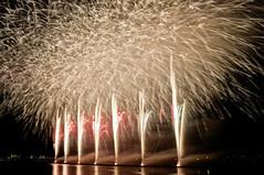 FINALE (ajpscs) Tags: longexposure nightphotography summer japan night tokyo nikon nightshot fireworks  nippon   koiwa edogawa  ichikawa d300 natsu      ajpscs  flickraward  edogawahanabitaikai mygearandme mygearandmepremium mygearandmebronze 37thedogawafireworksfestival 37 37thedogawahanabitaikai artoffireworks viewtokyoyakei