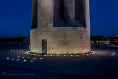 Holding up the tower ~ Explore (d_russell) Tags: libertymemorial kansascity night nightshot digitaldimensionsandbeyond canon5dmarkiii ef24105mmf4