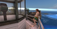 20160628 - PatrickUnicorn_30_001 (Patrick Unicorn) Tags: boy lighthouse top waiting high height beach shore sea