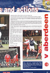 Dundee vs Rangers - 2000 - Page 19 (The Sky Strikers) Tags: dundee rangers scottish premier league spl bank of scotland dens park matchday magazine one pound fifty