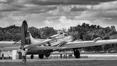 B-17 Yankee Lady (BRB1952) Tags: b17 yankeeairmuseum thunderovermichigan2016 yankeelady willowrunairport