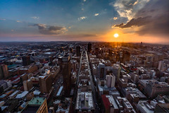 Joburg sunset