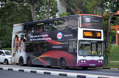 SBS Transit Volvo Super Olympian B10TL Volgren CR222LD (nighteye) Tags: sbstransit  volvo superolympian b10tl volgren cr222ld sbs9834c service28 esso energyliveshere singapore bus