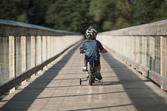 me and my bike (r3ddlight) Tags: sonya6300 sonyphoto sony85mmgm asianboy kids childphotography bike bridge portrait outdoor